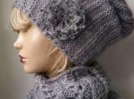 جدیدترین مدل های شال و کلاه بافتنی