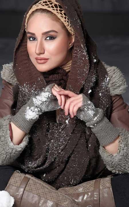 تصاویر جذاب مینا دلشاد بازیگر زیبای ایرانی