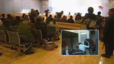 عجیب ترین سرقت در حضور قاضی دادگاه + عکس