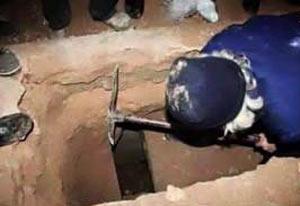 نبش قبر نوه دختری امام موسی کاظم توسط داعش + عکس