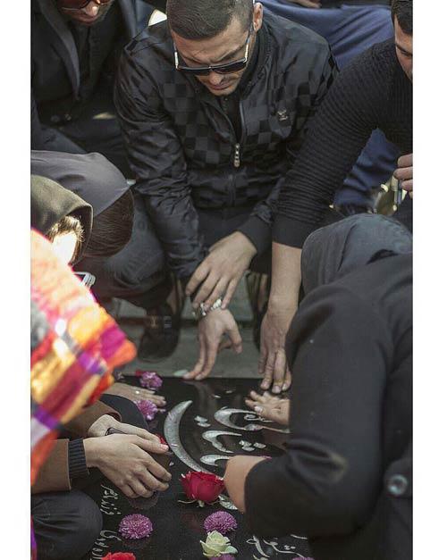 هنرمندان مشهور در مراسم سالگرد مرتضی پاشایی