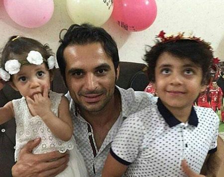 آخرین جشن تولدی که هادی نوروزی برای فرزندش گرفت + عکس