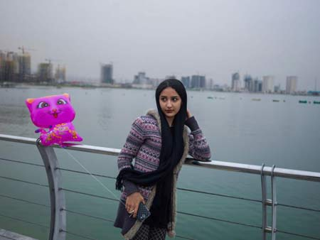 عکس یک دختر ایرانی زیبا روی مجله آمریکایی تایم