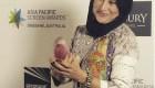 تیپ جالب فاطمه معتمد آریا در جشنواره خارجی