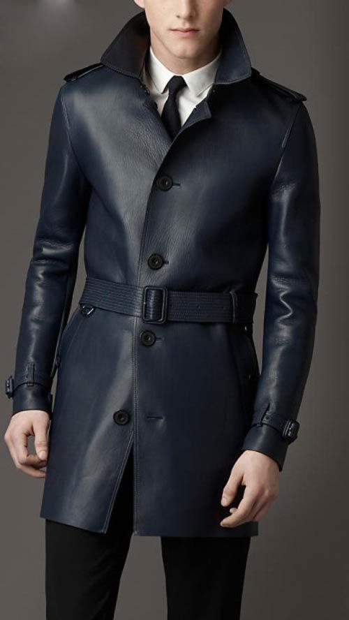 جدیدترین مدل پالتو و کاپشن چرم مردانه ۲۰۱۵