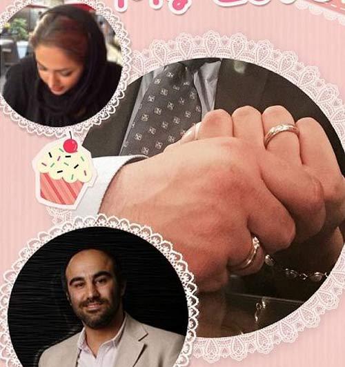 محسن تنابنده و همسرش روشنک گلپا + عکس