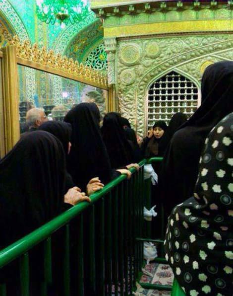 روش جدید و آسان زیارت حرم امام رضا + تصاویر