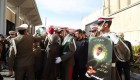 پیکر رکن آبادی در تهران تشییع شد + عکس