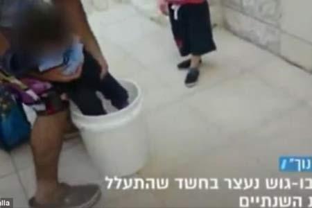 دستگیری پدر بیرحم بخاطر تنبيه وحشتناک دخترش + عکس