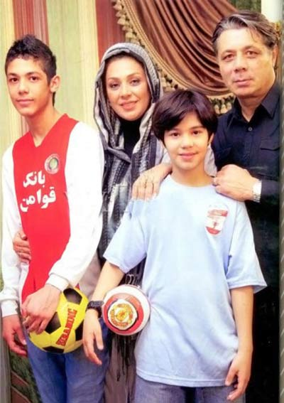 افتخار نسرین مقانلو به شوهر فوتبالیست استقلالیش + عکس