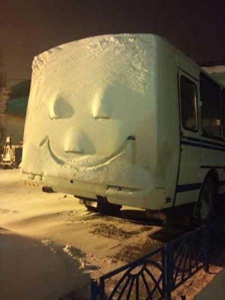 آدم برفی های خنده دار و جالب در سراسر دنیا + عکس