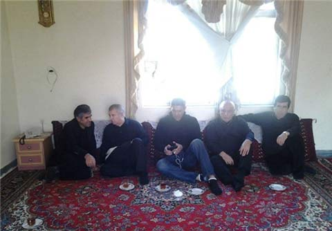 جزئیات و تصاویر مراسم چهلم هادی نوروزی