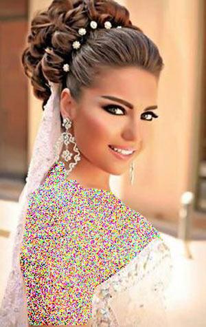 شنیون جدید عروس مدل 2017
