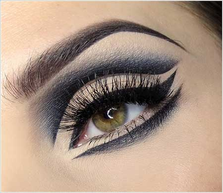 آموزش تصویری آرایش چشم زیبا  2016