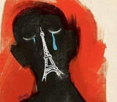 واکنش مهناز افشار و هنرمندان معروف به فاجعه پاریس