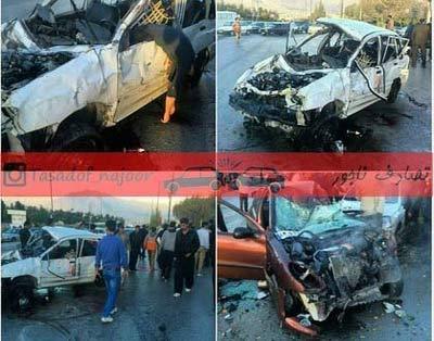 کشته شدن متخصص قلب معروف کشور در تصادف با پراید + عکس