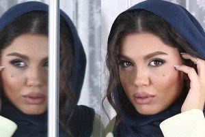 تمرین پاتیناژ بازیگر زن ایرانی + عکس