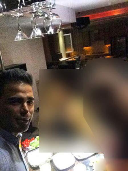 جنجال انتشار عکس پسر جوان با ده ها دختر