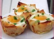 آموزش یک صبحانه شیک با تخم مرغ +عکس