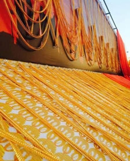 سنگین ترین زنجیر طلای جهان را ببینید + عکس