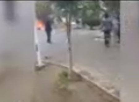 جزئیات آتش زدن کارتن خوابها در پارک حقانی + عکس