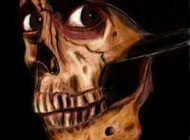 مرحوم استخوان جمجمه در غسالخانه +عکس