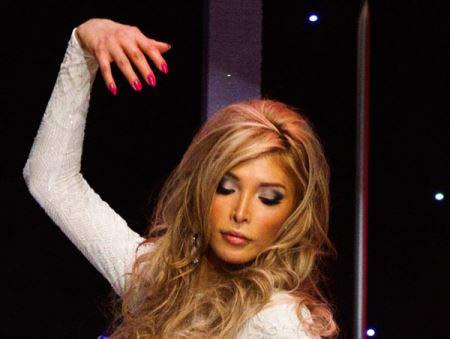 عکسهای داغ و جذاب سحر بی نیاز مدل زیبای ایرانی