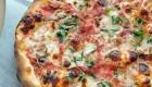 پیتزای خوشمزه مارگاریتا مخصوص گیاهخواران