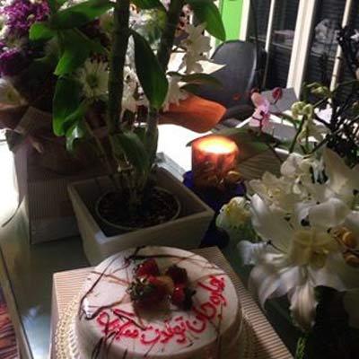جشن تولد چهل و دو سالگی بهاره رهنما + عکس