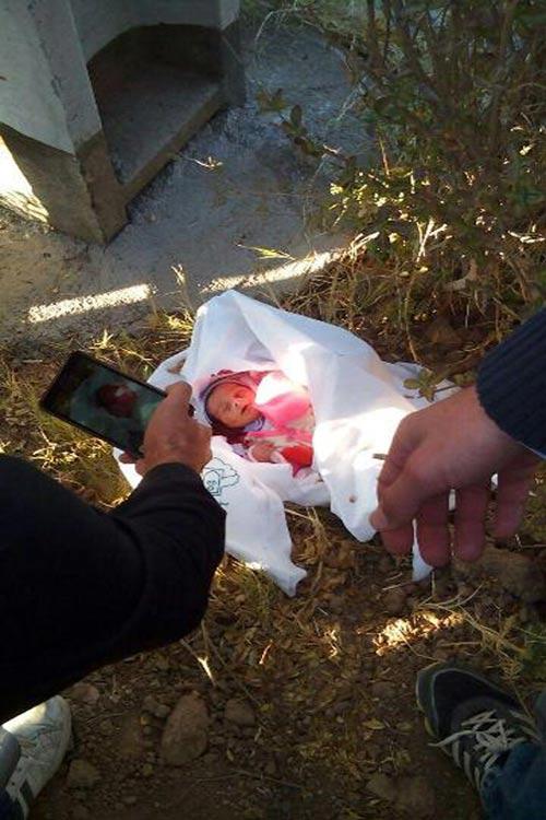 جزئیات ماجرای نوزاد رها شده با ملحفه بیمارستان + عکس