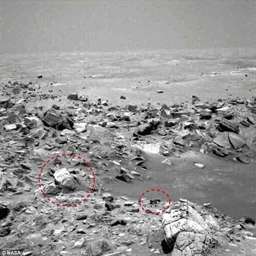 کشف مجسمه خدایان آشوری در مریخ + عکس