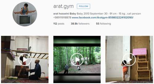 مشهور ترین و پرطرفدارترین کودکان ایرانی در اینستاگرام + عکس