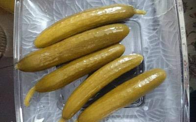 روش تهیه خیارشور در سه روز
