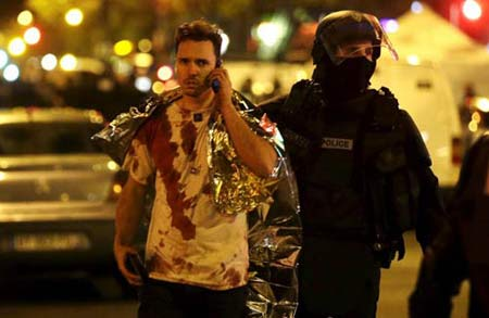 واکنش چهره های ایرانی به انفجار پاریس