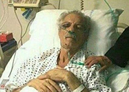 وضعیت وخیم پورحیدری در بیمارستان +عکس