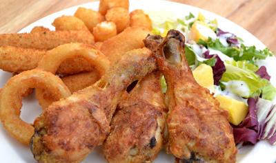 طرز درست کردن مرغ سوخاری بدون روغن