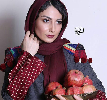 تصاویر جذاب و جالب چهره ها و بازیگران در شب یلدا + عکس