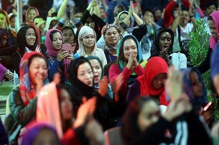 تصاویر زیبای برگزاری جشن میلاد مسیح در کیش