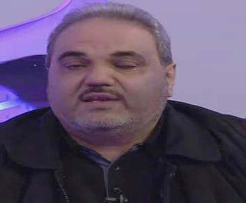 گریه جواد خیابانی در پخش زنده تلویزیون + عکس