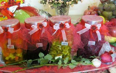 عکسهای زیبای تزئین شب یلدایی برای عروس