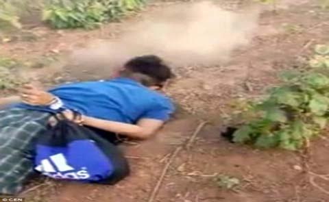 پخش تصاویر قتل بیرحمانه در اینترنت توسط قاتل + عکس