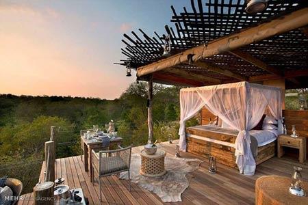 اتاق های بی سقف و رویایی هتلها را ببینید +عکس