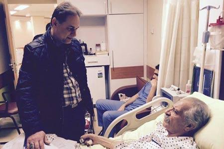 تازه ترین خبر از وضعیت پورحیدری در بیمارستان +عکس