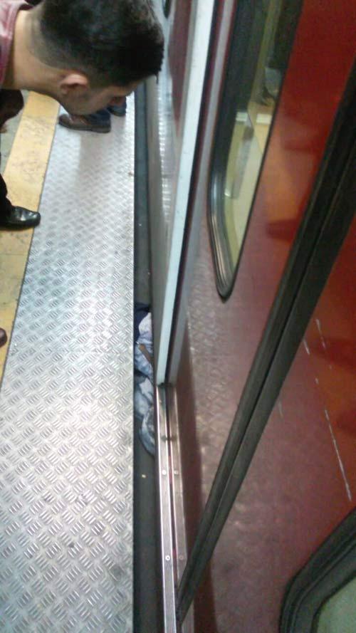 جزئیات خودکشی یا مرگ یک مرد در متروی تهرانپارس +عکس
