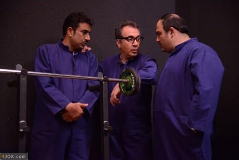 زندانیان شیک پوش در حاشیه مهران مدیری +عکس