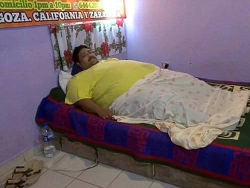 مرگ چاق ترین مرد جهان +عکس