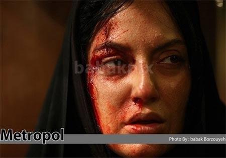 جنجال حمله اراذل و اوباش به مهناز افشار