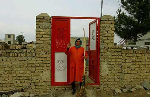 تنها خانم رفتگر ایرانی را بشناسید + عکس