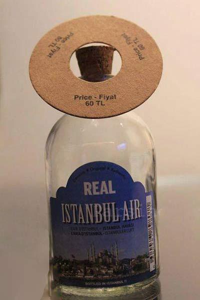 جنجال فروش 60 لیری شیشه هوای استانبول +عکس