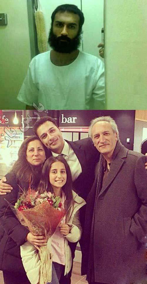 سوپر مدل زیبای ایرانی از زندان دوبی آزاد شد + عکس آزادی